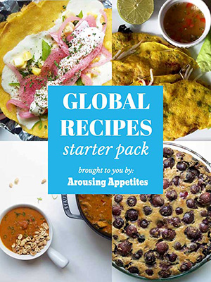 Explore four of our favorite recipes from our global starter recipe pack