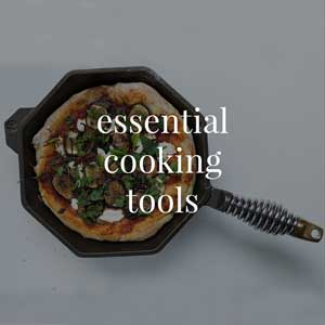 Explore our collection of beautiful rustic essential cooking tools for your kitchen